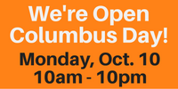Columbus Day Hours
