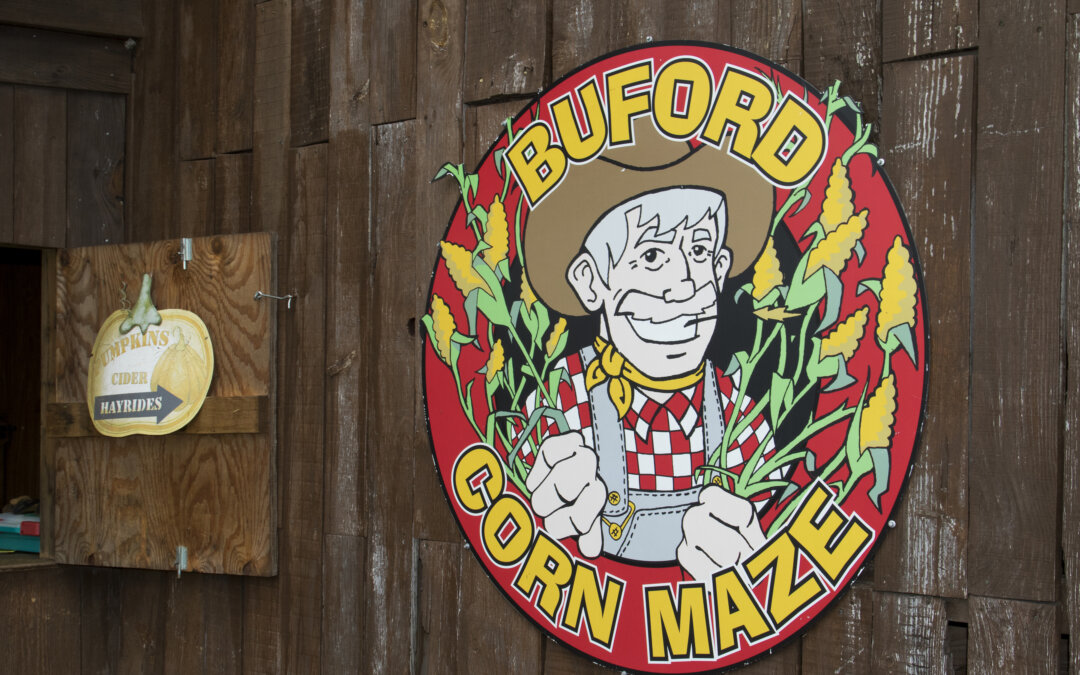 Listen to a podcast interview about the Buford Corn Maze and how we got started.