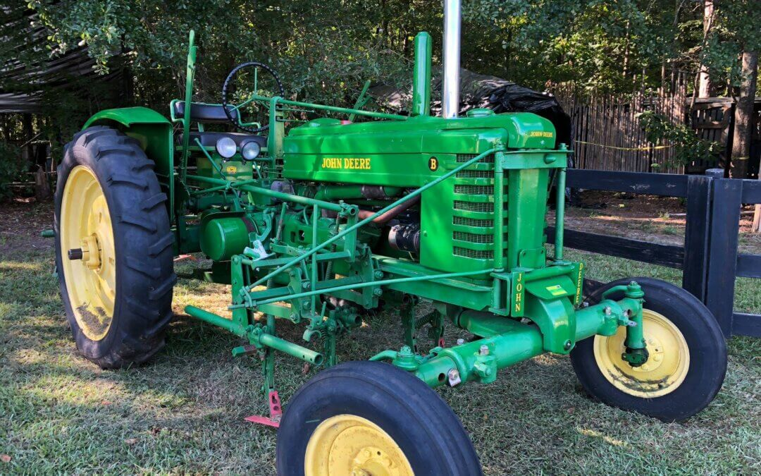 From Truett Cathy's Antique Tractor Collection